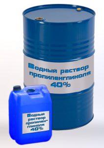 Утилизация отработанного раствора пропиленгликоля