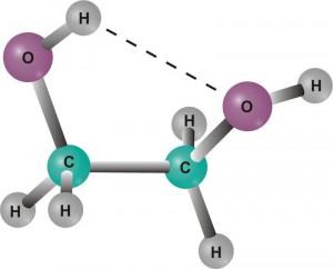 Структура гликоля